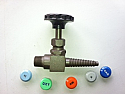 Chicago No. 901 Needle Valve - Sepia Bronze